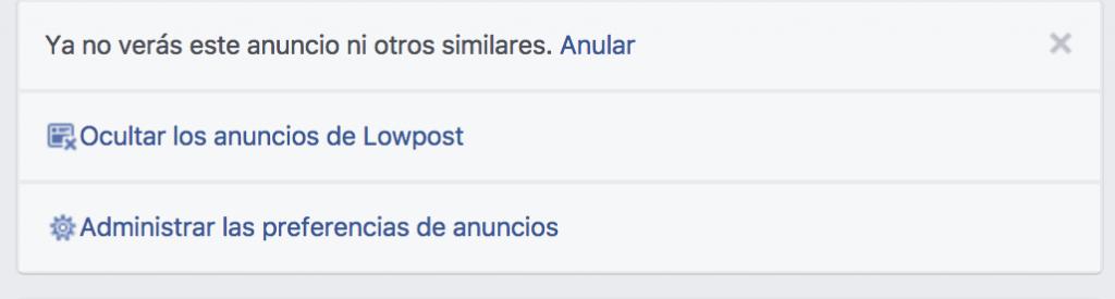 minimalismo redes sociales
