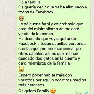 Minimalismo Facebook