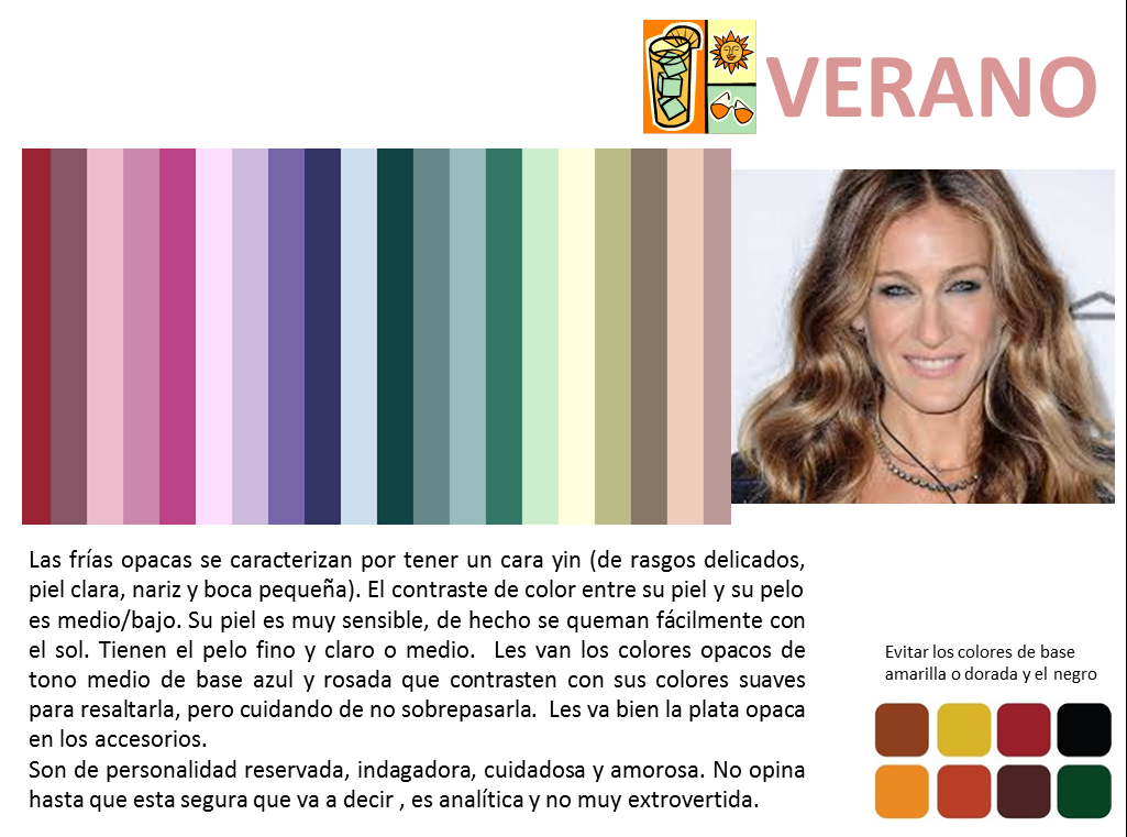 Teoría colores verano