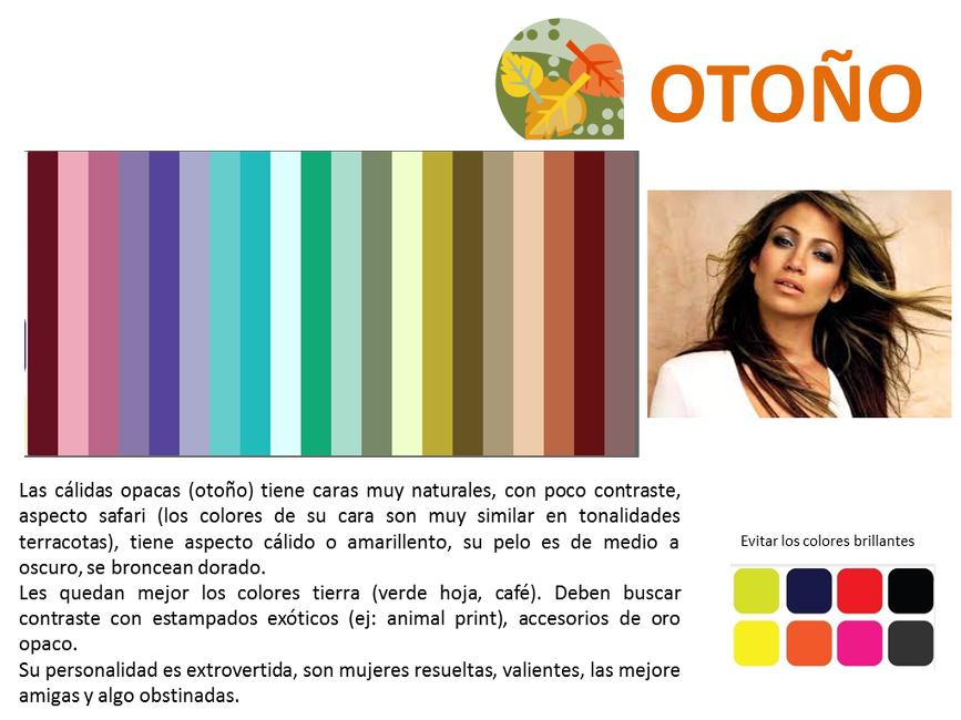 Teoría colores otoño