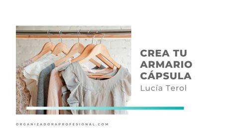 Crea tu armario cápsula con Lucía Terol