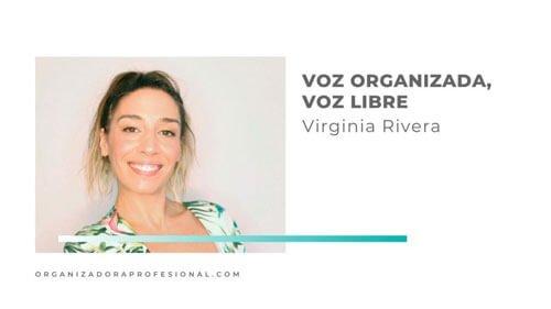 Voz organizada, voz libre con Virginia Rivera