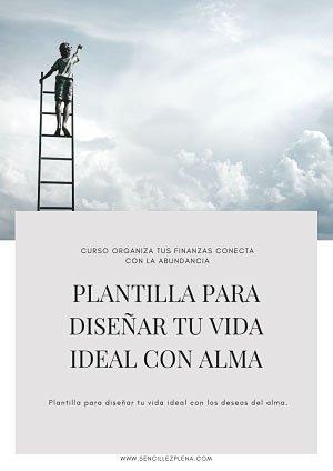 Plantilla para diseñar tu vida ideal